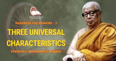 Handbook For Mankind - 3. Three Universal Characteristics