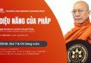 Thông Báo: Chương Trình Thuyết Pháp Của Ngài Đại Trưởng Lão Tam Tạng 10 Hàng Tuần Từ 18/09/2021